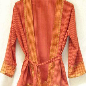 veste kimono orange