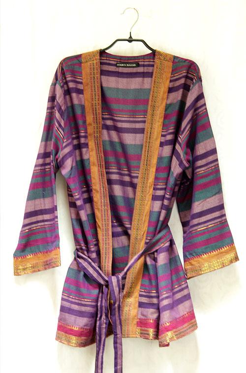 veste kimono violet