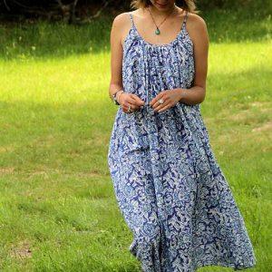 robe longue voile